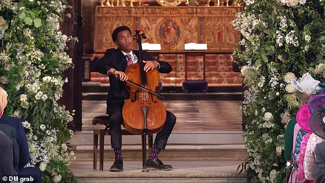 Royal wedding cellist Sheku Kanneh-Mason made the New Year's List of Honours and received a MBE