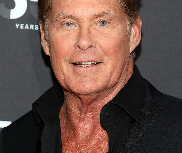 The one lesson I've learned from life: David Hasselhoff, 67, says never stop taking risks